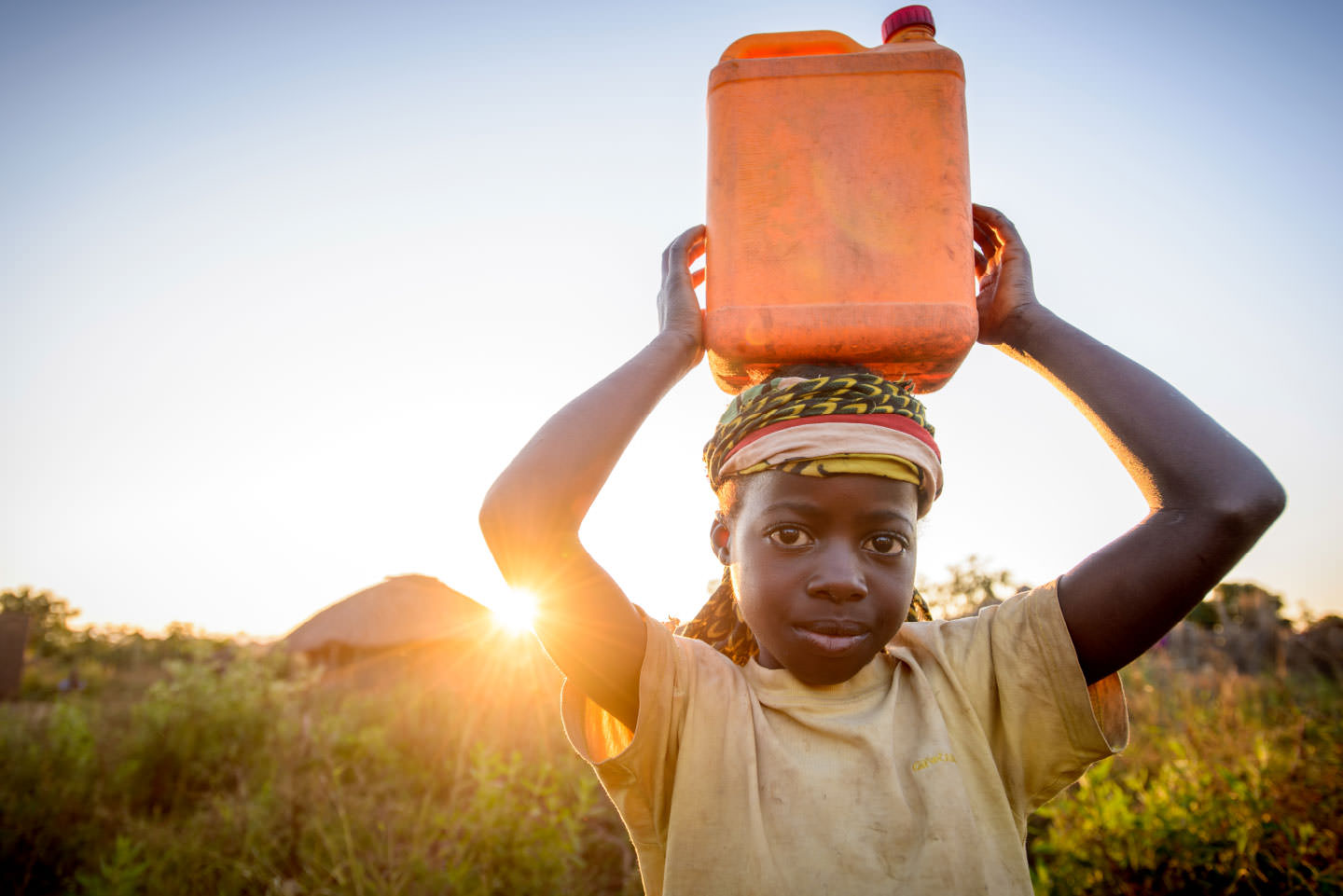 Marita would fetch water and firewood to help Marta's mother care for her best friend.