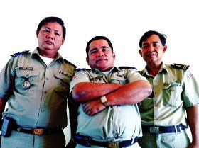 Leuk Daek's police force