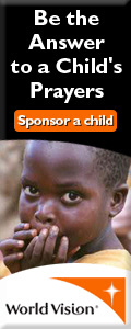 Be the answer to a child's prayers. Sponsor a child.
