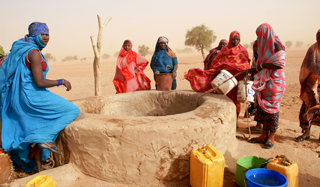 Mauritania Water Children